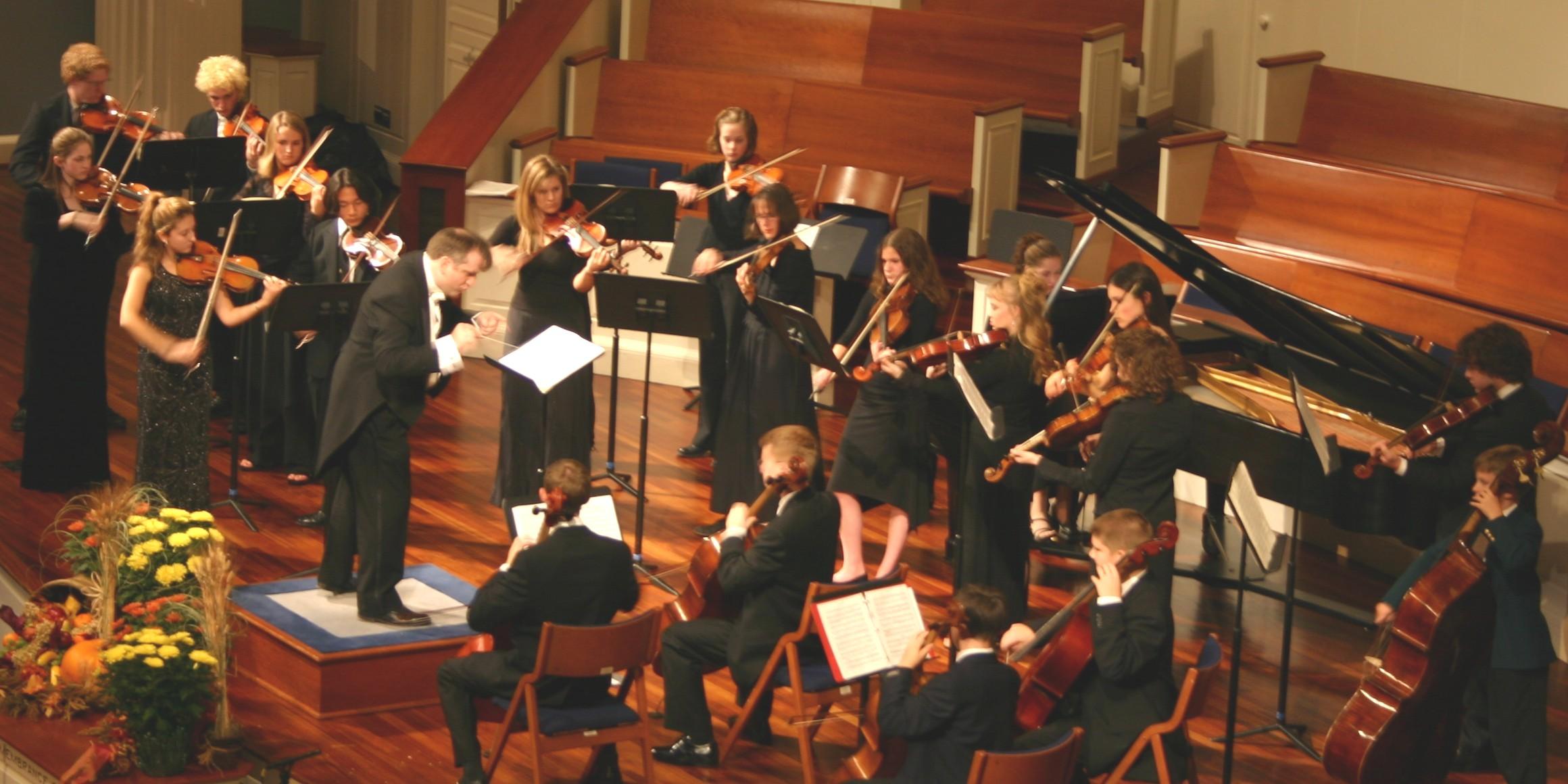 The original Baroque Festival Orchestra
