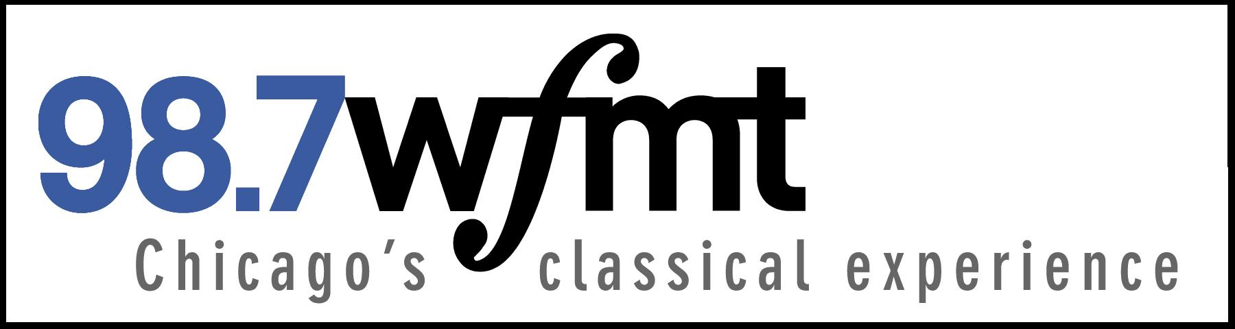 WFMT 98.7 Logo