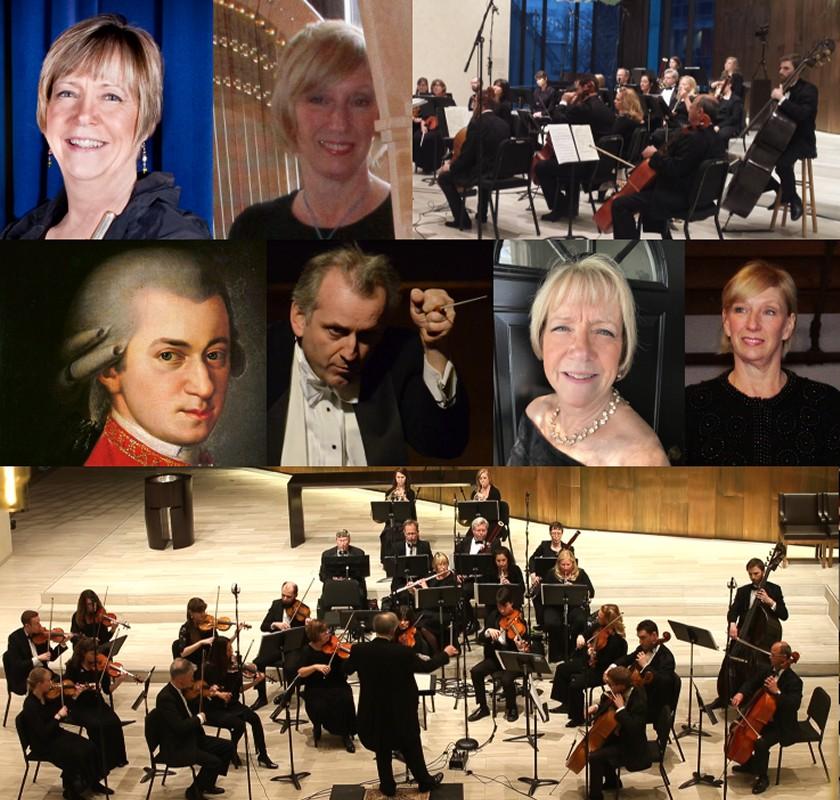 April 5 & 6, 2019 Mozart Flute & Harp Concerto & Symphony No. 29