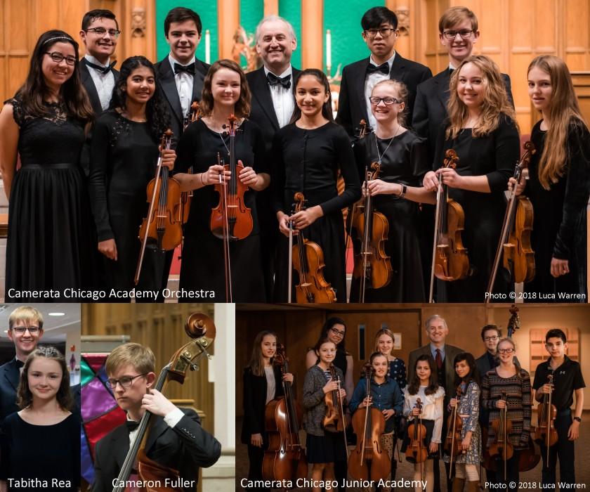 Academy Orchestra, Tabitha Rea, Cameron Fuller and the Junior Academy Ensemble