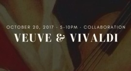 'Veuve & Vivaldi' co-hosted on Facebook by The Ivy and Camerata Chicago