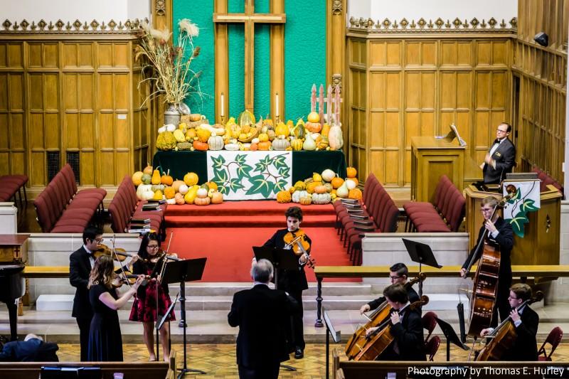 Academy Orchestra on November 19, 2017 at Gary United Methodist Church, Wheaton. Photography by Thomas E. Hurley