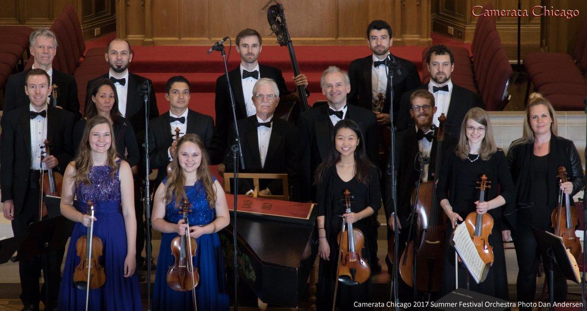 Camerata Chicago 2017 Summer Festival Orchestra