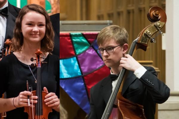 Academy Soloists Tabitha Rea and Cameron Fuller
