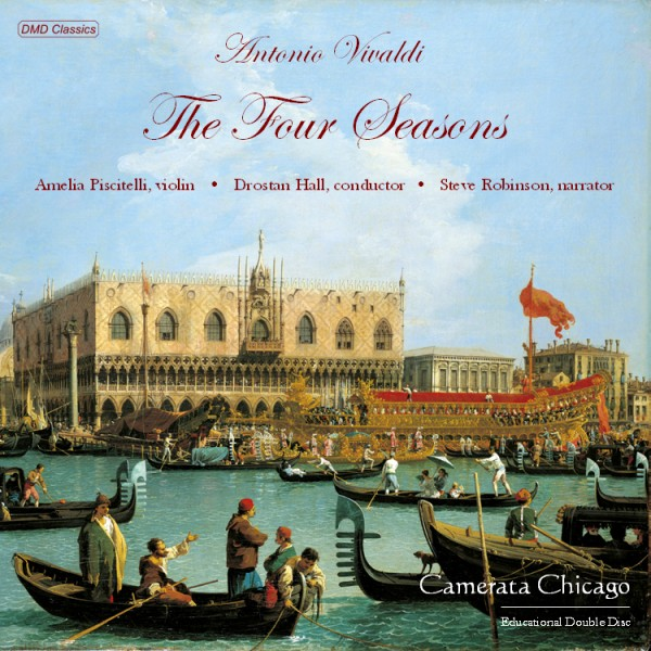 Vivaldi Four Seasons CD from Camerata Chicago