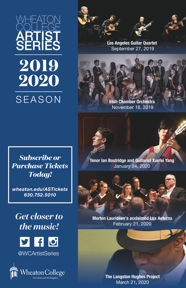 Wheaton College Artist Series 2019 - 2020 Season